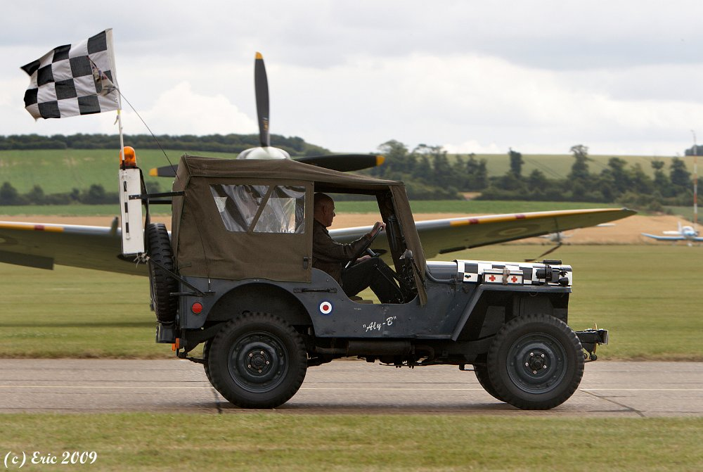 Duxford Flying Legends 2008 Jeep Willys Follow Me Mg 5919